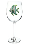 Stemmed Glass Tropical Fish