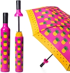 Wine Bottle Umbrella Pineapple