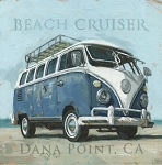 Canvas Art Print Beach Cruiser
