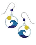 Sienna Sky Wave Earrings