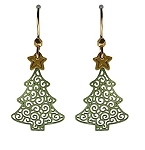 Sienna Sky Earrings Christmas Tree