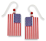 Sienna Sky American Flag Earrings