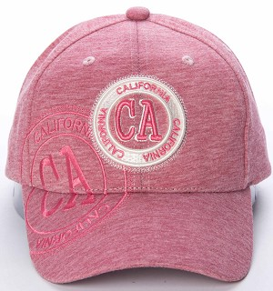 California Baseball Cap in Pink