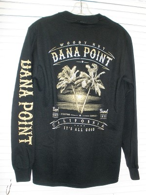 Woody Hut Long sleeve Palm T