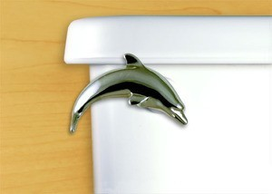 Toilet Flush Handle Dolphin