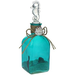 Glass Bottle w/Sand