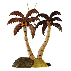 Two Palm Trees Ornament