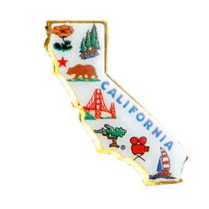 California State Lapel Pin